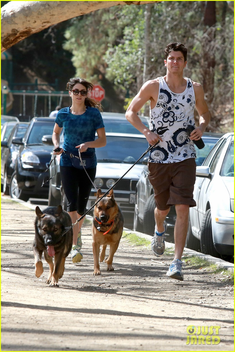 nikki reed dog run with brother nathan 082813910