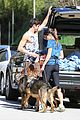 nikki reed dog run with brother nathan 09