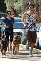 nikki reed dog run with brother nathan 10