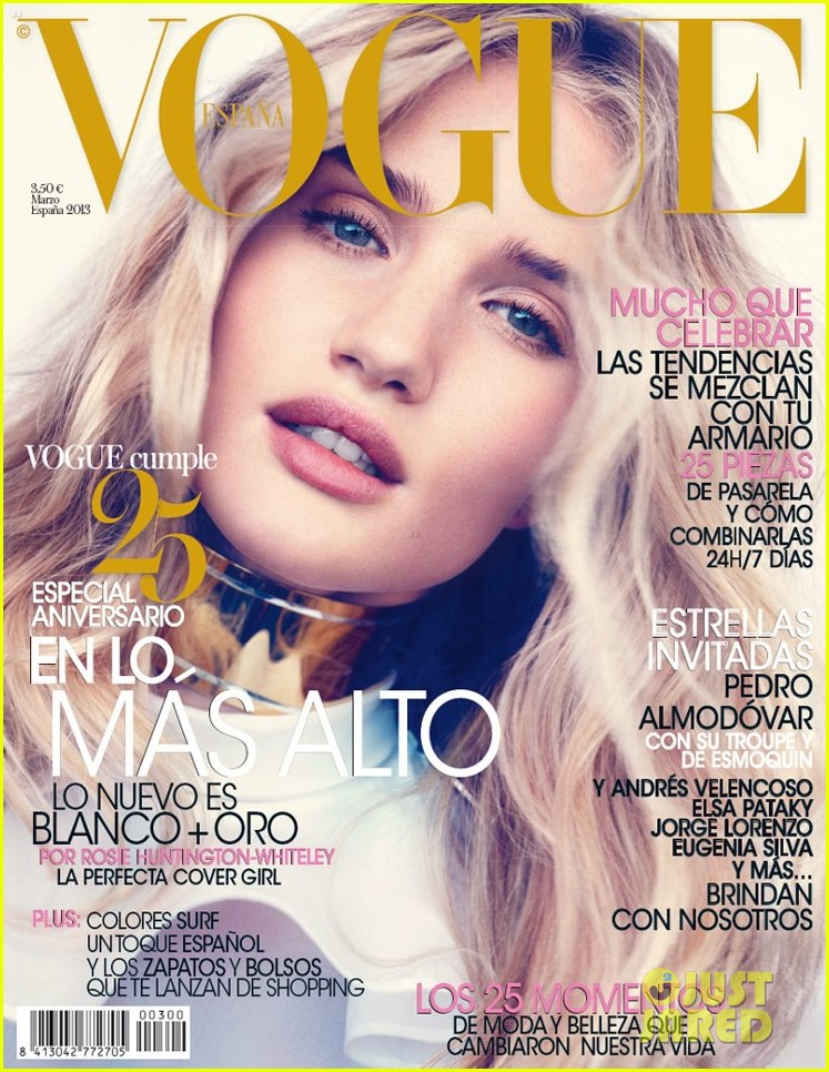 rosie huntington whiteley covers vogue spain march 2013 01