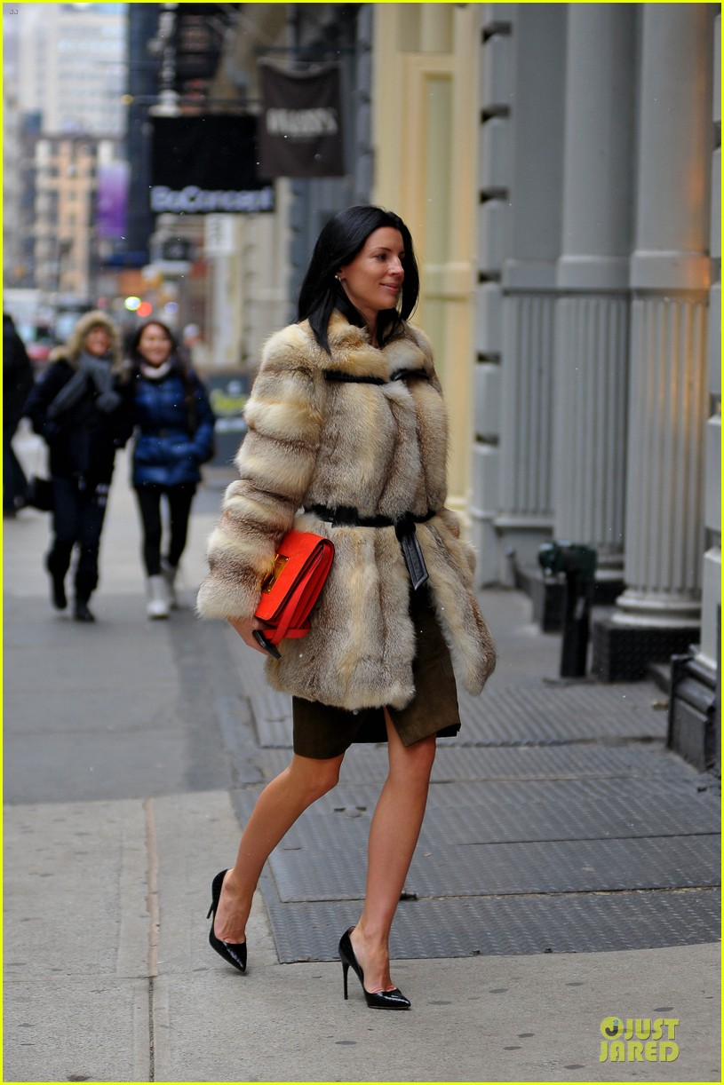 liberty ross fur coat soho shopping 032805443