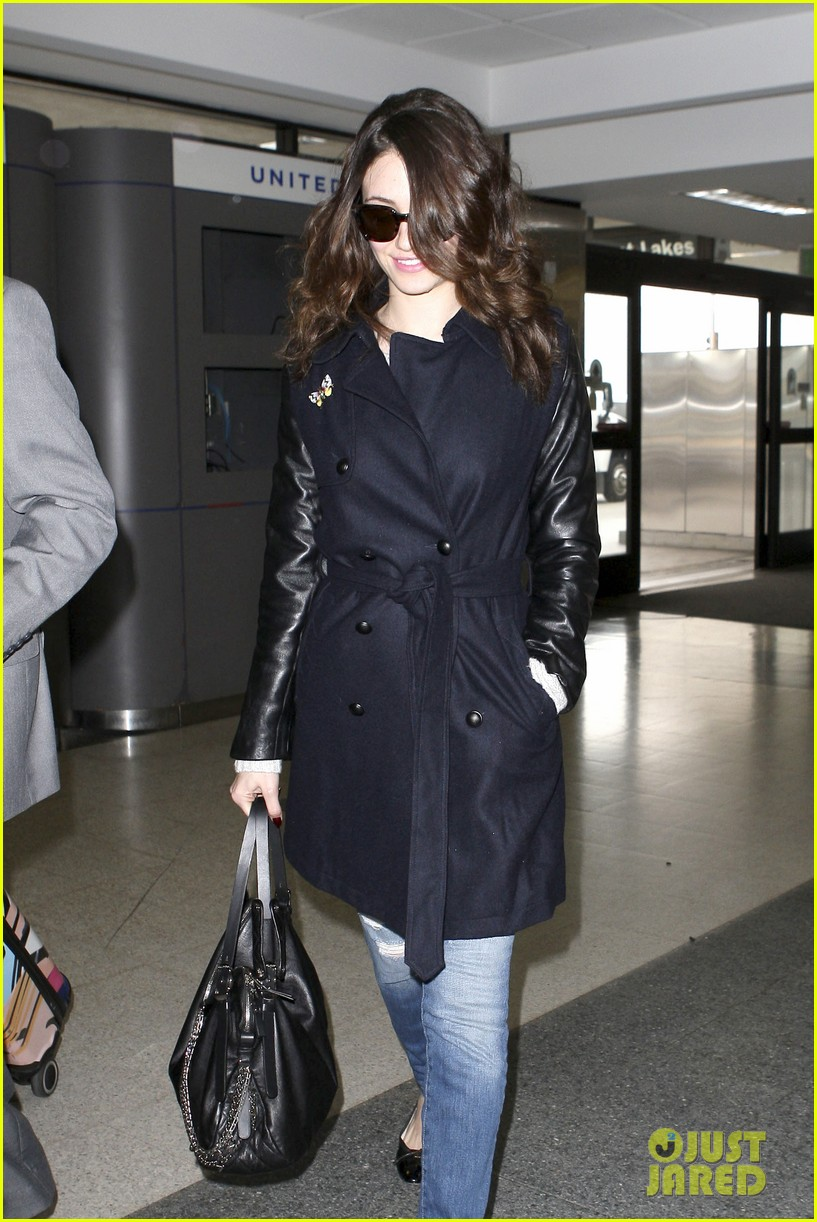 emmy rossum blizzard bound for new york city 042807292