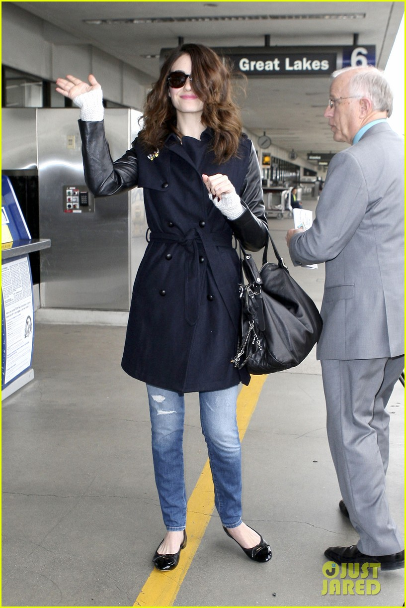 emmy rossum blizzard bound for new york city 072807295
