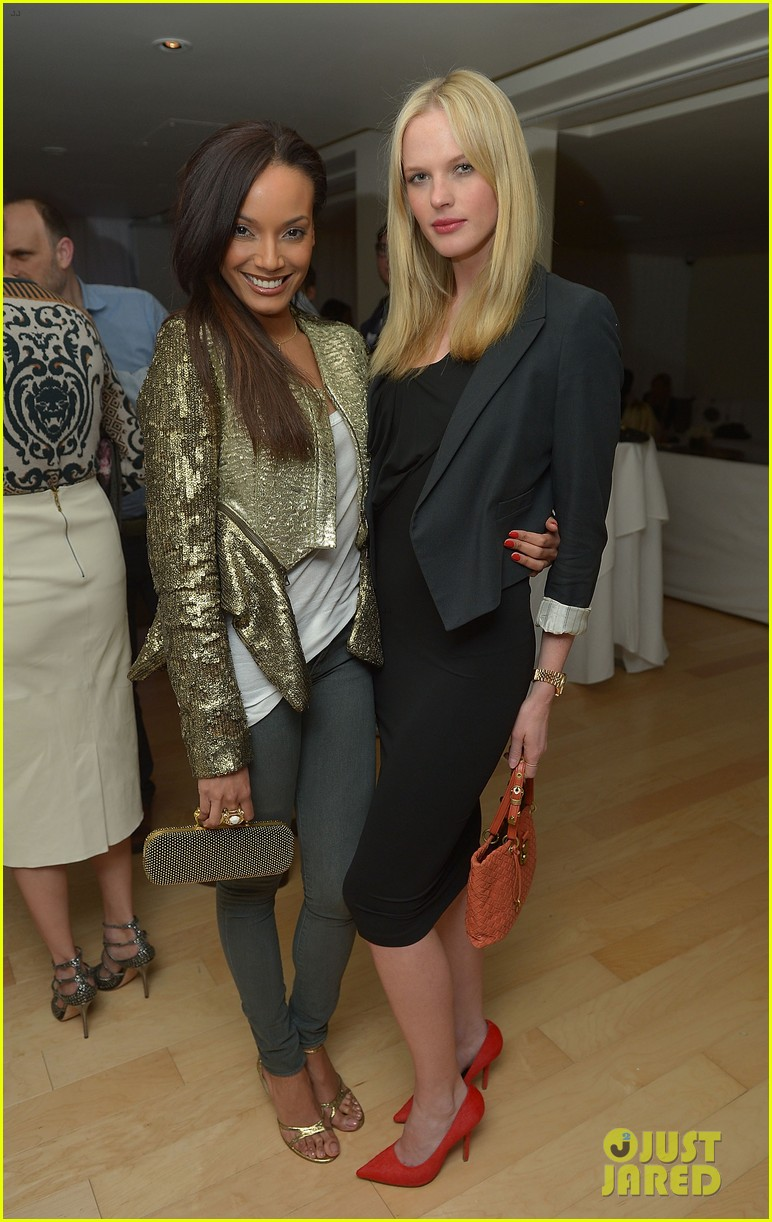 anne v rachel roy louise roe fashion star dinner 012822427