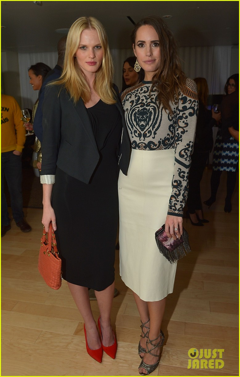anne v rachel roy louise roe fashion star dinner 142822440