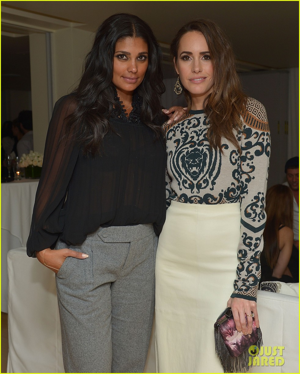 anne v rachel roy louise roe fashion star dinner 172822443