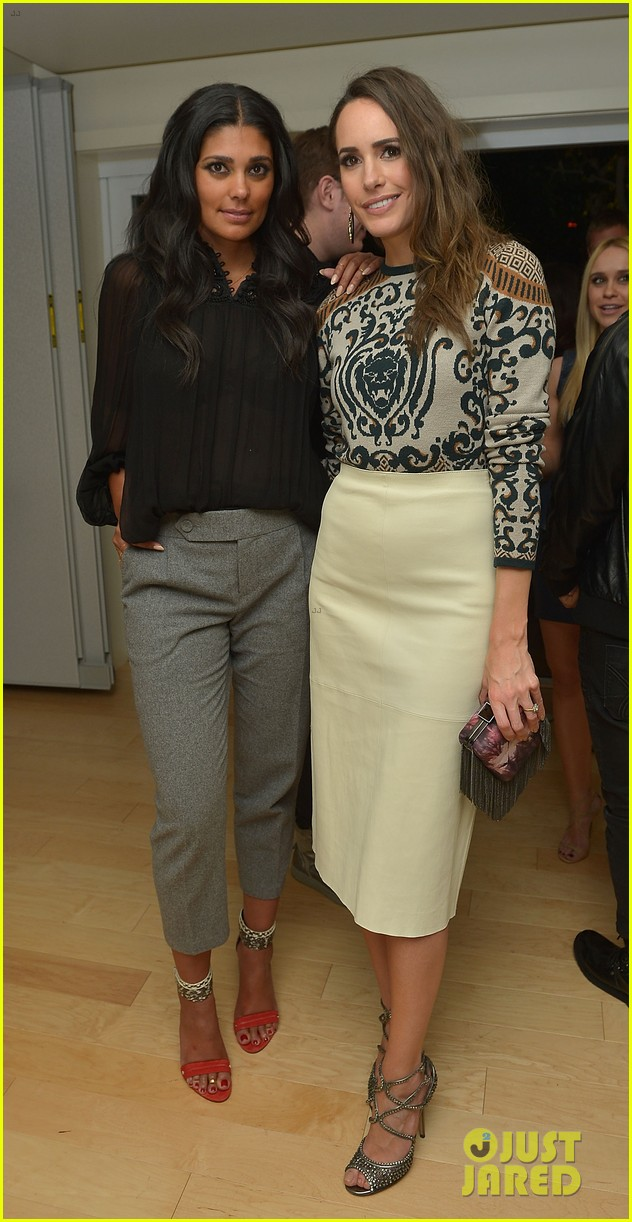 anne v rachel roy louise roe fashion star dinner 20
