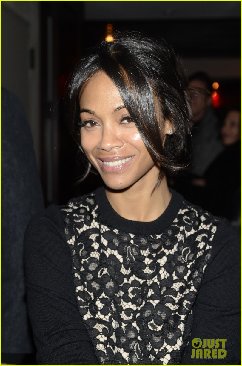 zoe saldana gents launch party 02