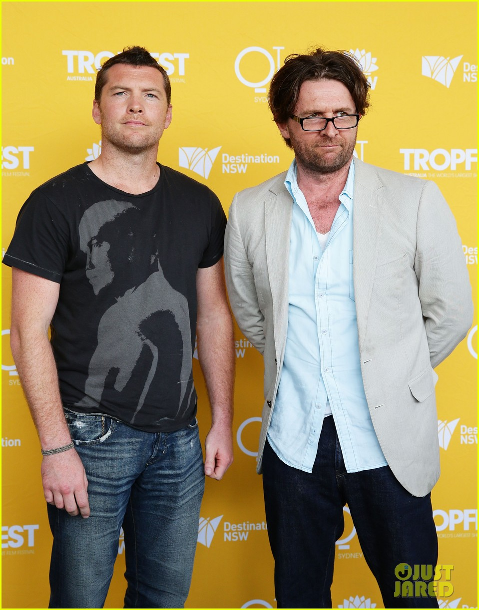 sam worthington tropfest film festival judge 062814374