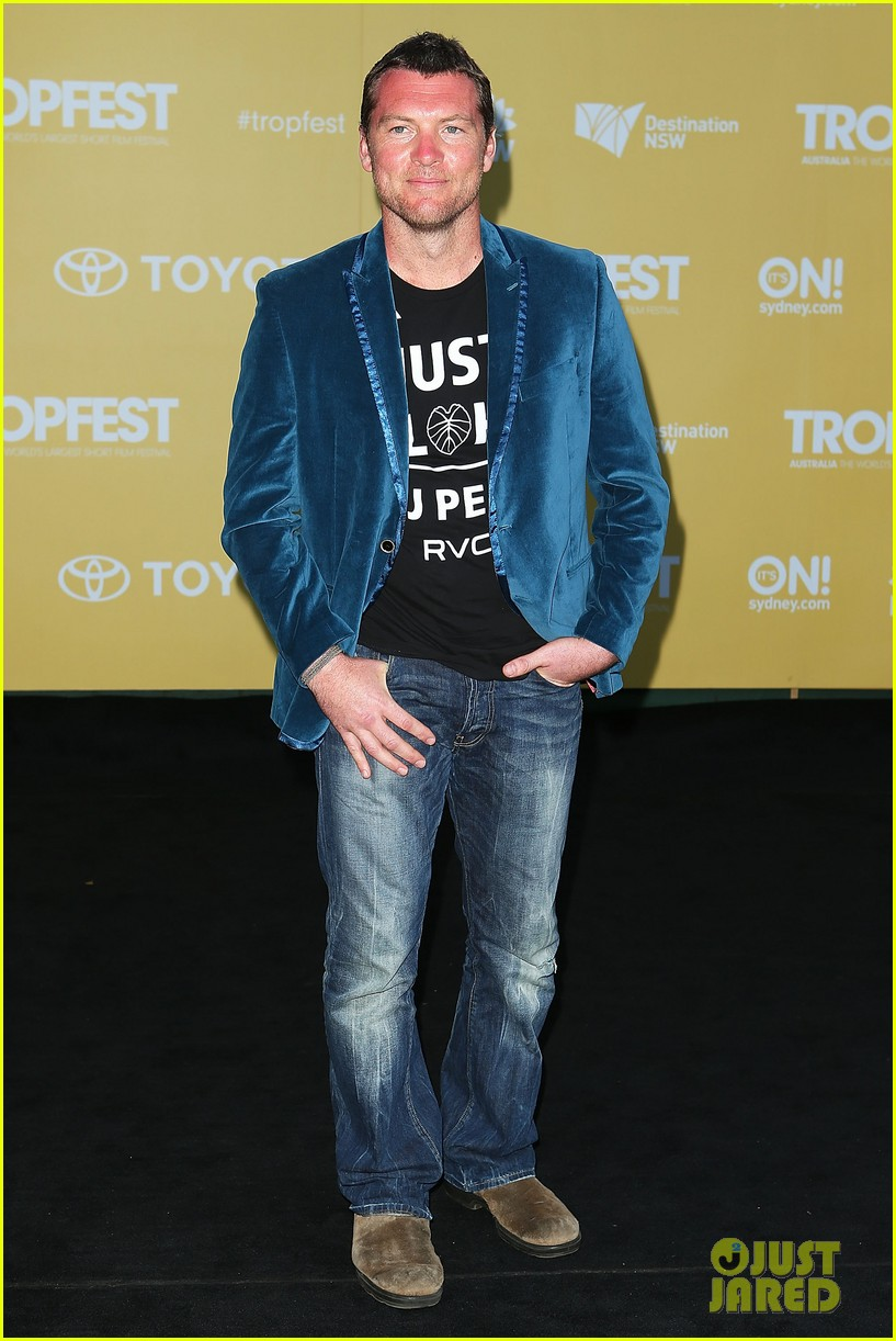 sam worthington tropfest film festival judge 132814381