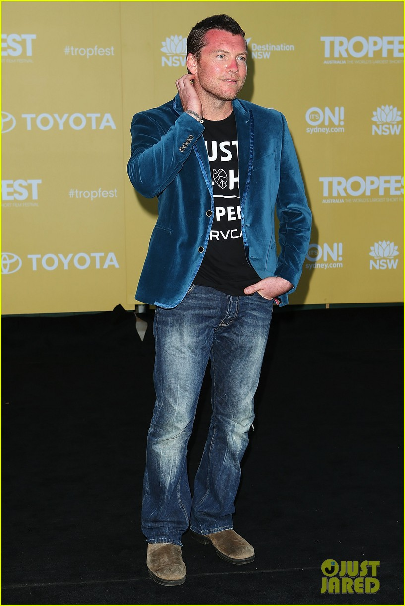 sam worthington tropfest film festival judge 152814383