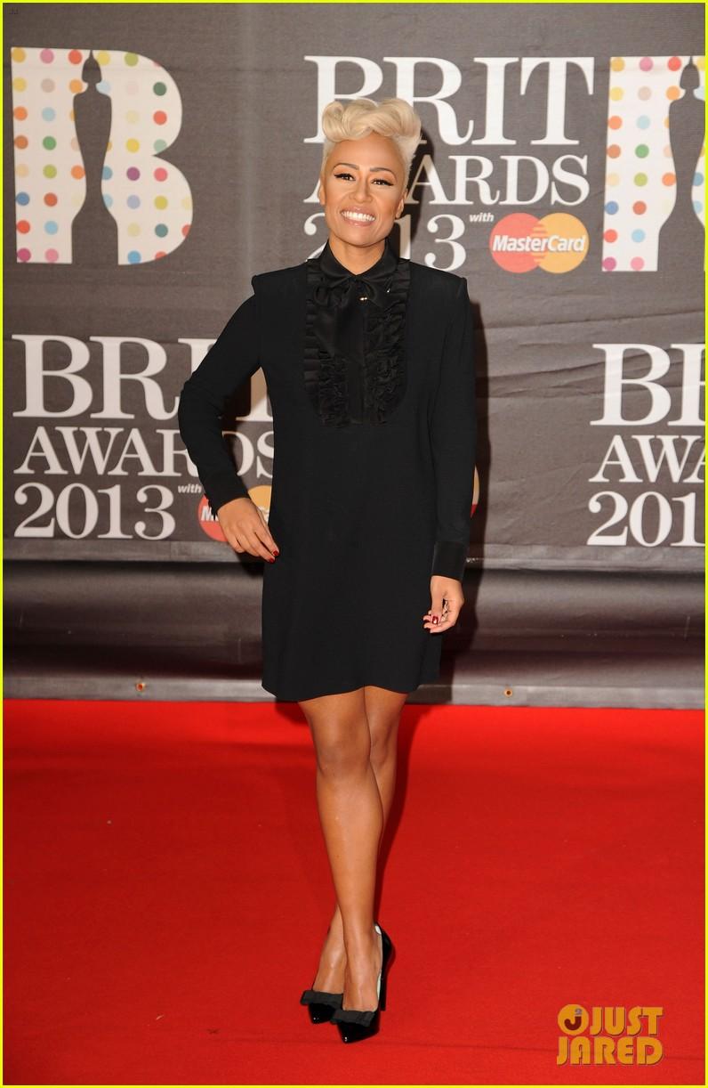 emeli sande brit awards 2013 performance red carpet 082815942
