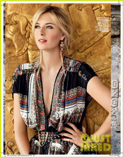 maria sharapova covers conde nast traveller russia 032813758