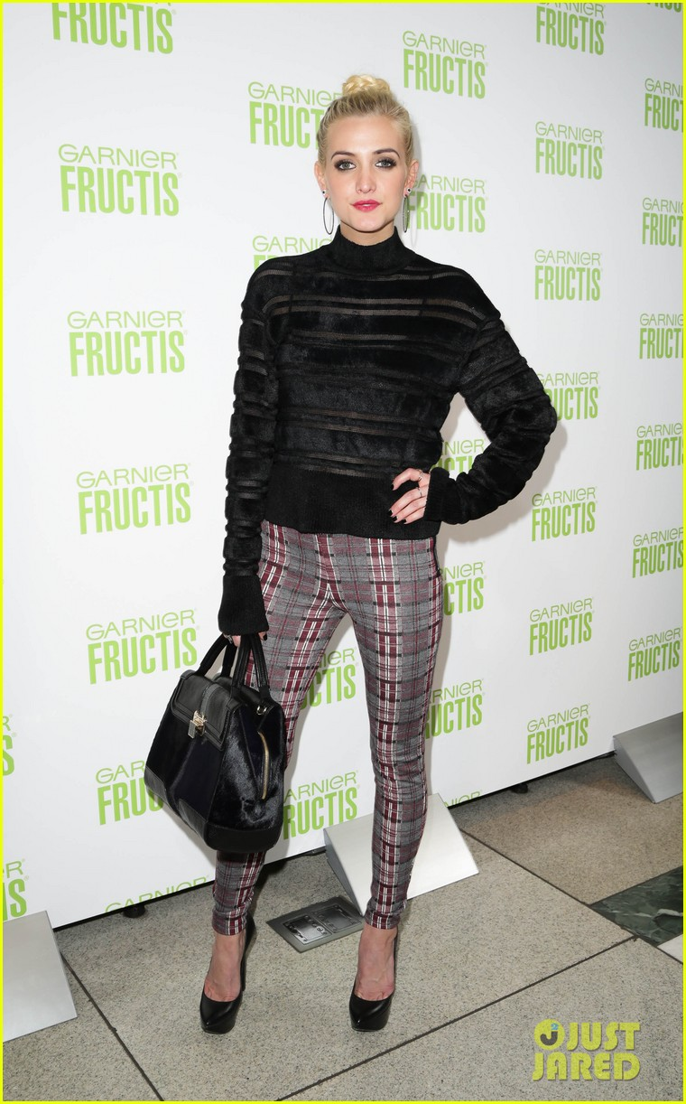 ashlee simpson garnier fructis fashion week celebration 122807155