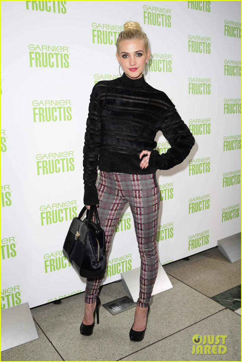 ashlee simpson garnier fructis fashion week celebration 142807157