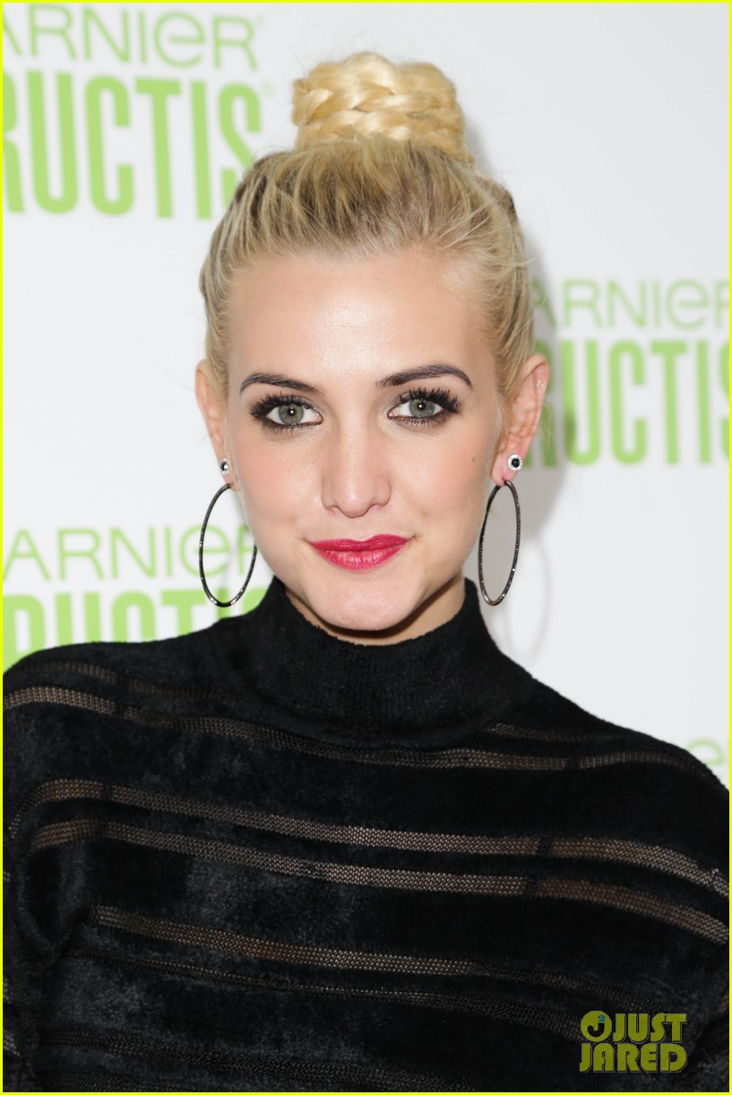 ashlee simpson garnier fructis fashion week celebration 15