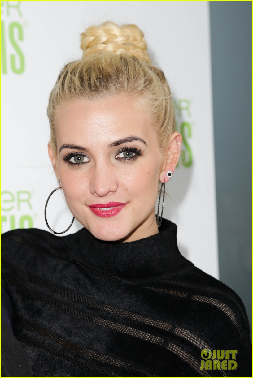 ashlee simpson garnier fructis fashion week celebration 27