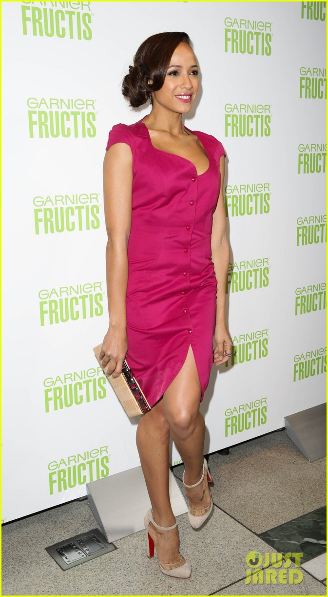 ashlee simpson garnier fructis fashion week celebration 322807175