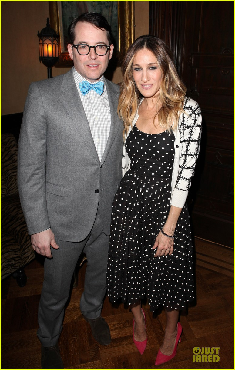 sarah jessica parker matthew broderick love n courage benefit 01