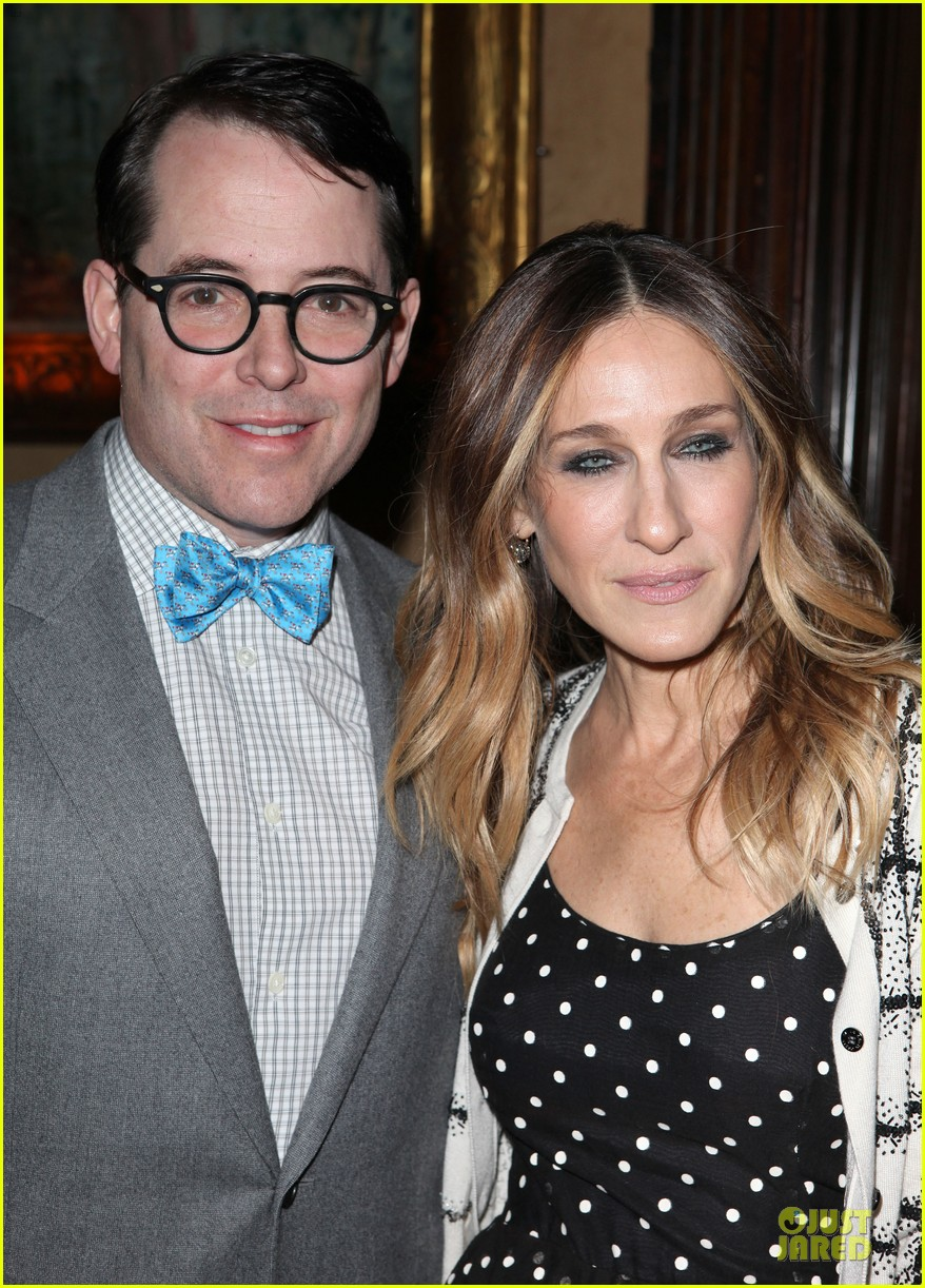 sarah jessica parker matthew broderick love n courage benefit 022820869