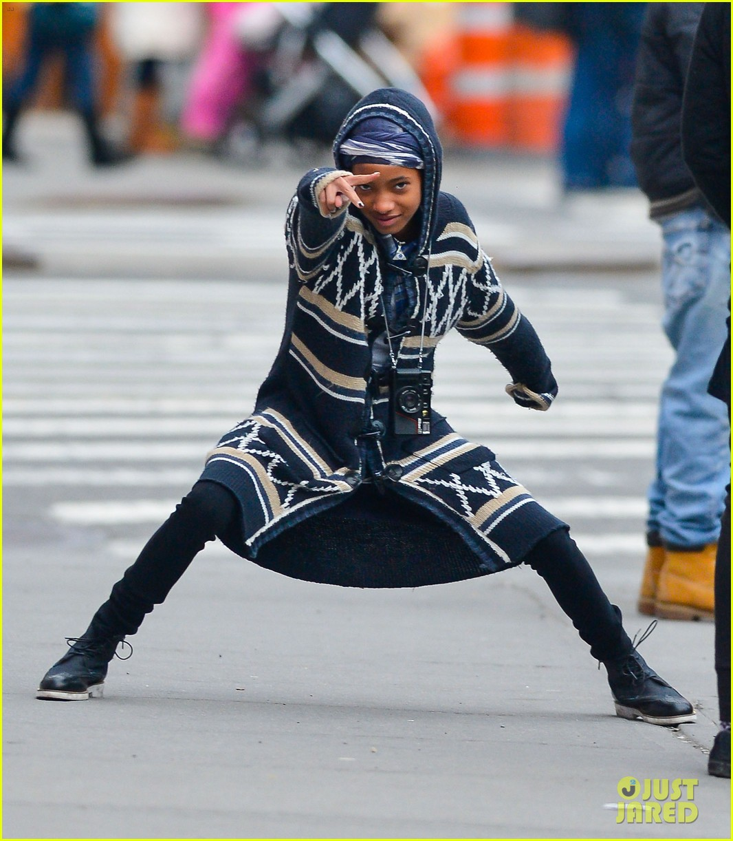 willow jaden smith video shoot in new york 012820964