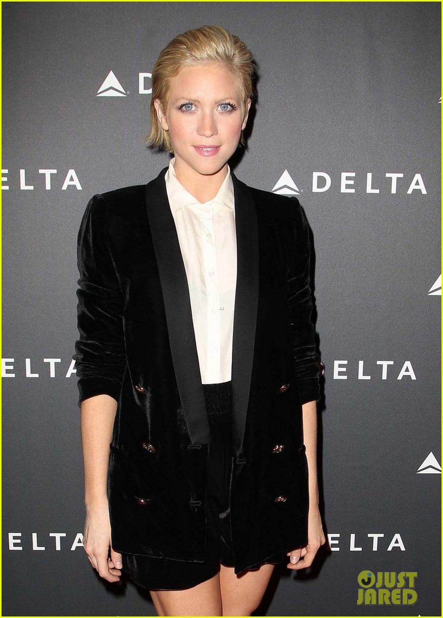 brittany snow solange knowles l as music industry event 282807130