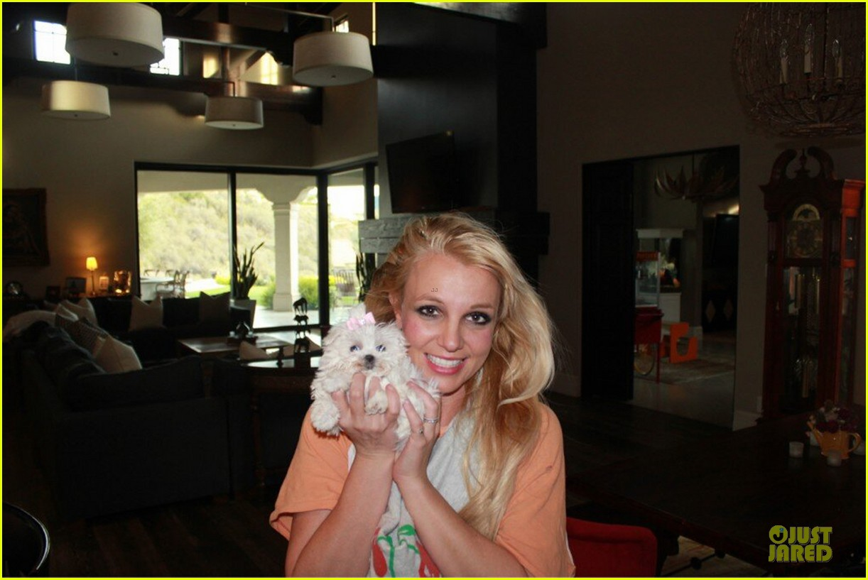 britney spears say good morning to my new baby 052808116