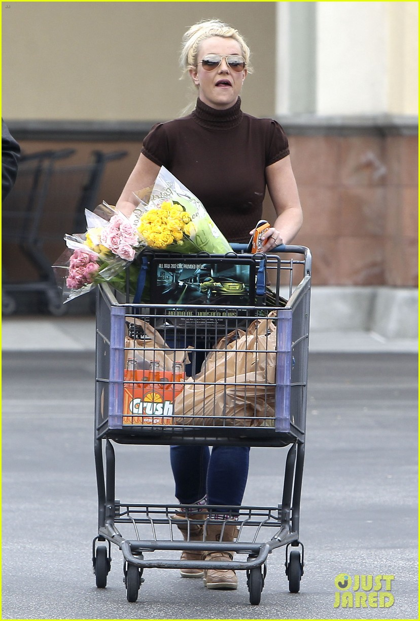 britney spears grocery shopping gal 072803876