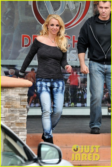 britney spears solo spa day 072809126