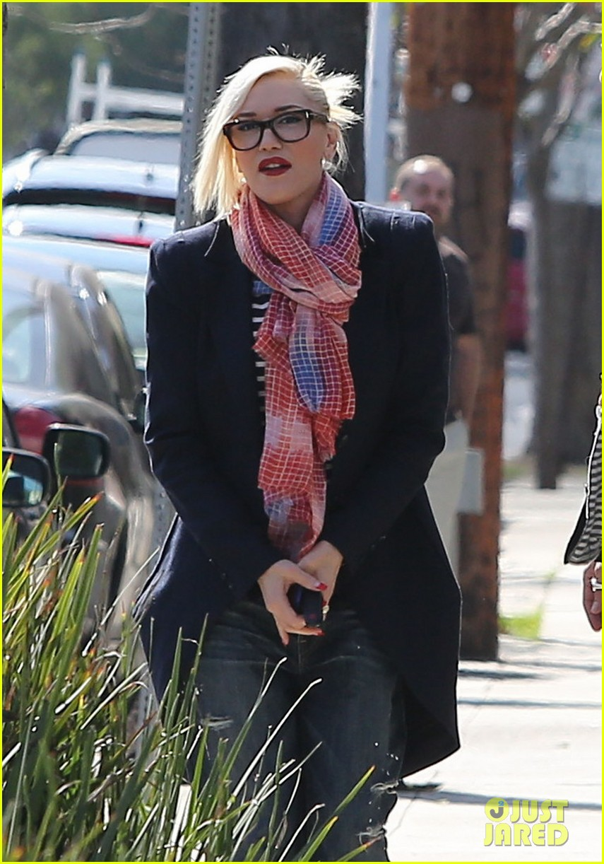 Gwen Stefani in Tom Ford eyeglasses