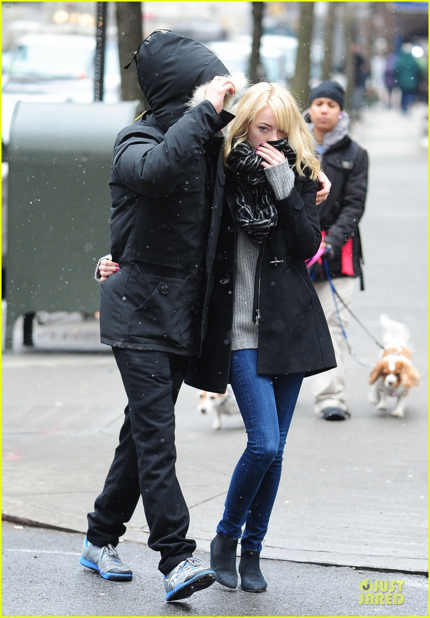emma stone andrew garfield amazing spider man 2 begins production 012805392
