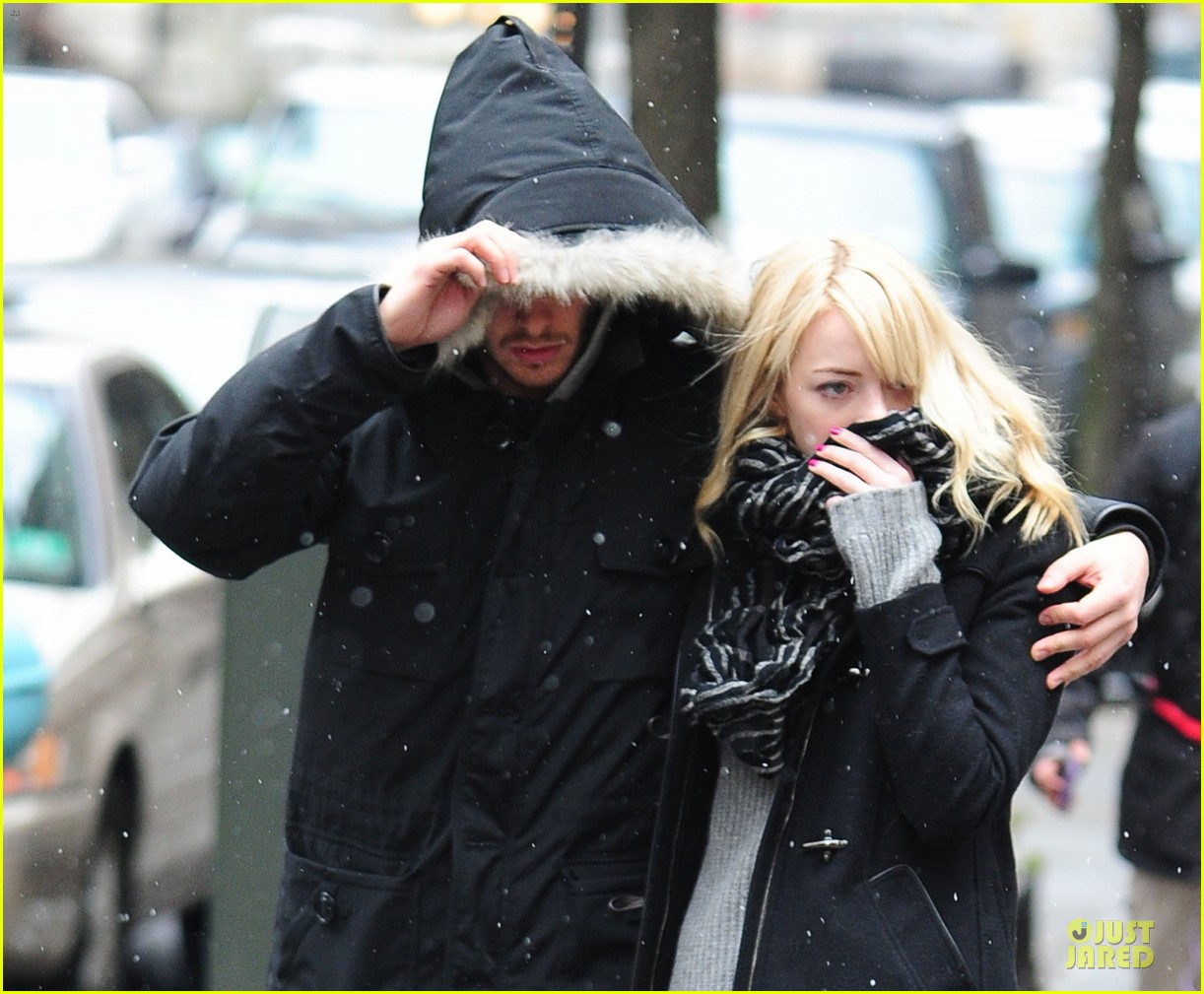 emma stone andrew garfield amazing spider man 2 begins production 04