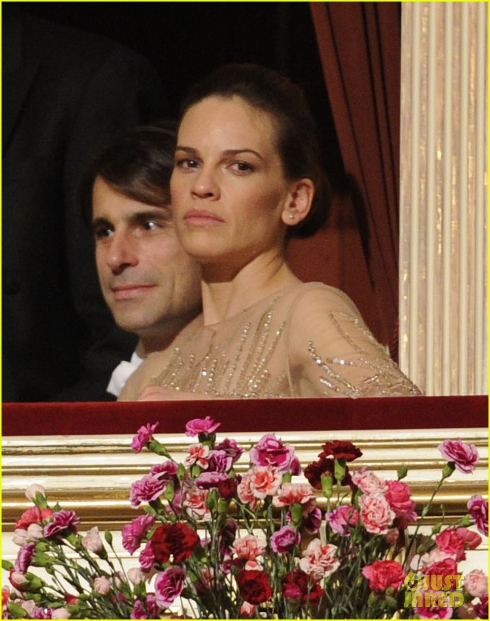 hilary swank laurent fleury vienna opera ball 02