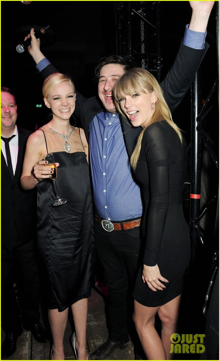 taylor swift carey mulligan brit awards after party gals 012816081