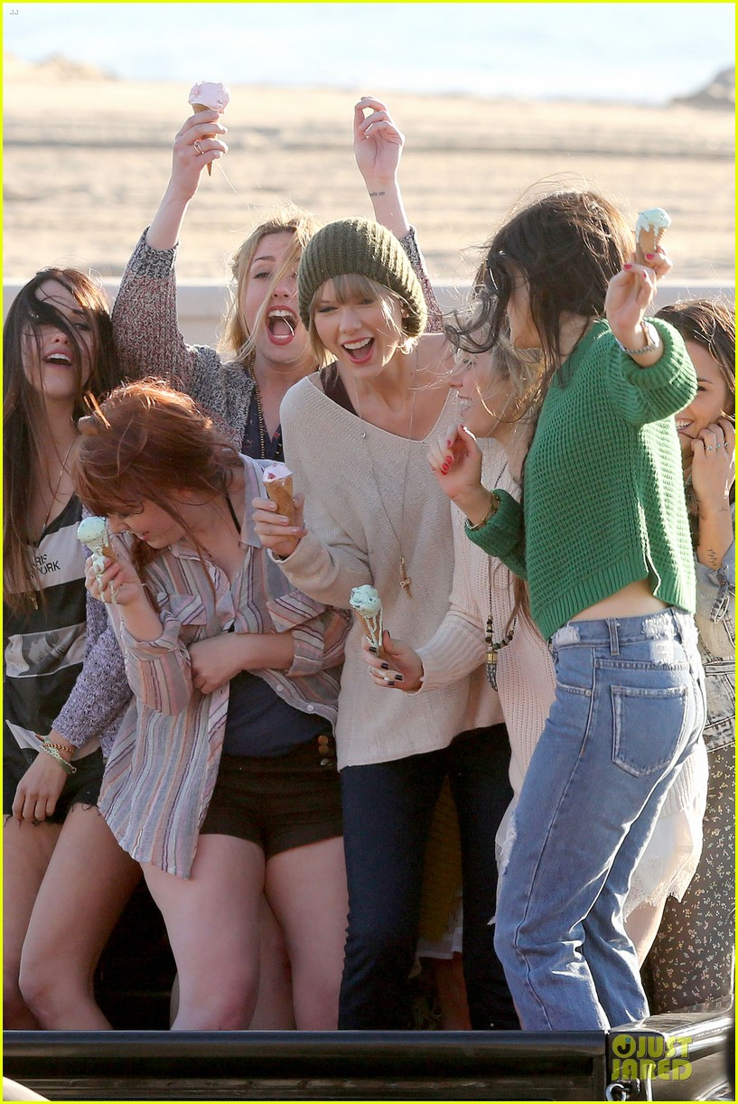 taylor swift post grammy music video shoot 04
