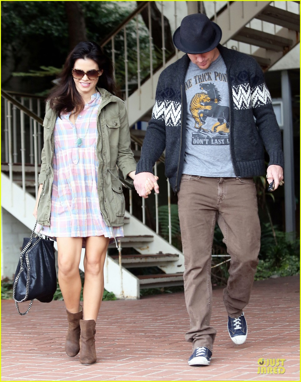 channing tatum jenna dewan pregnancy is sexy 062805487
