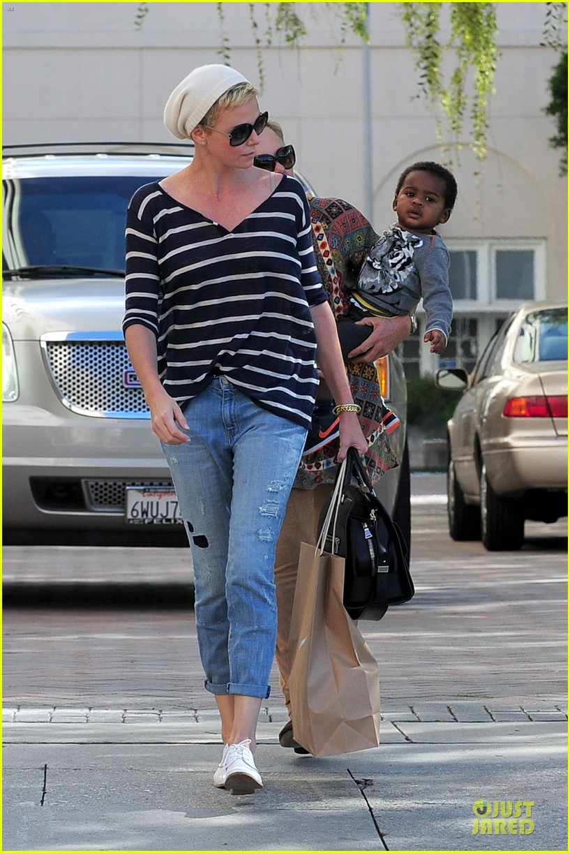charlize theron glam squad development with style 092813523