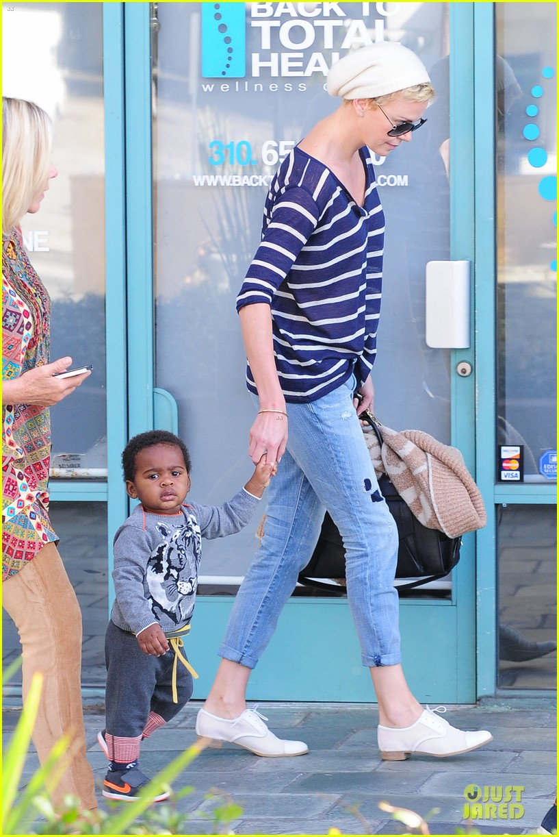 charlize theron glam squad development with style 142813528