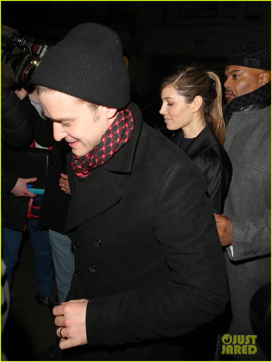 justin timberlake jessica biel brit awards after party 032816343