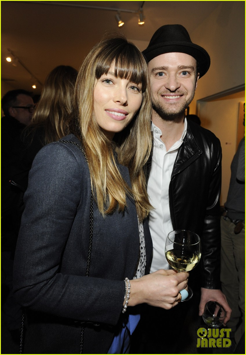 justin timberlake jessica biel nothing you dont know exhibition 022807199