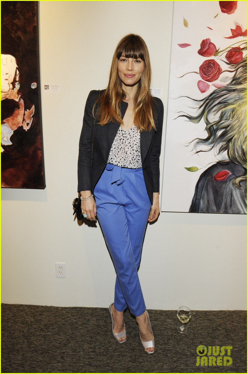 justin timberlake jessica biel nothing you dont know exhibition 032807200
