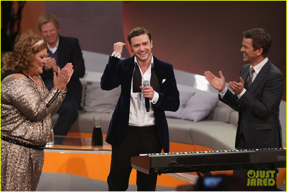 justin timberlake performs mirrors on wetten dass 04