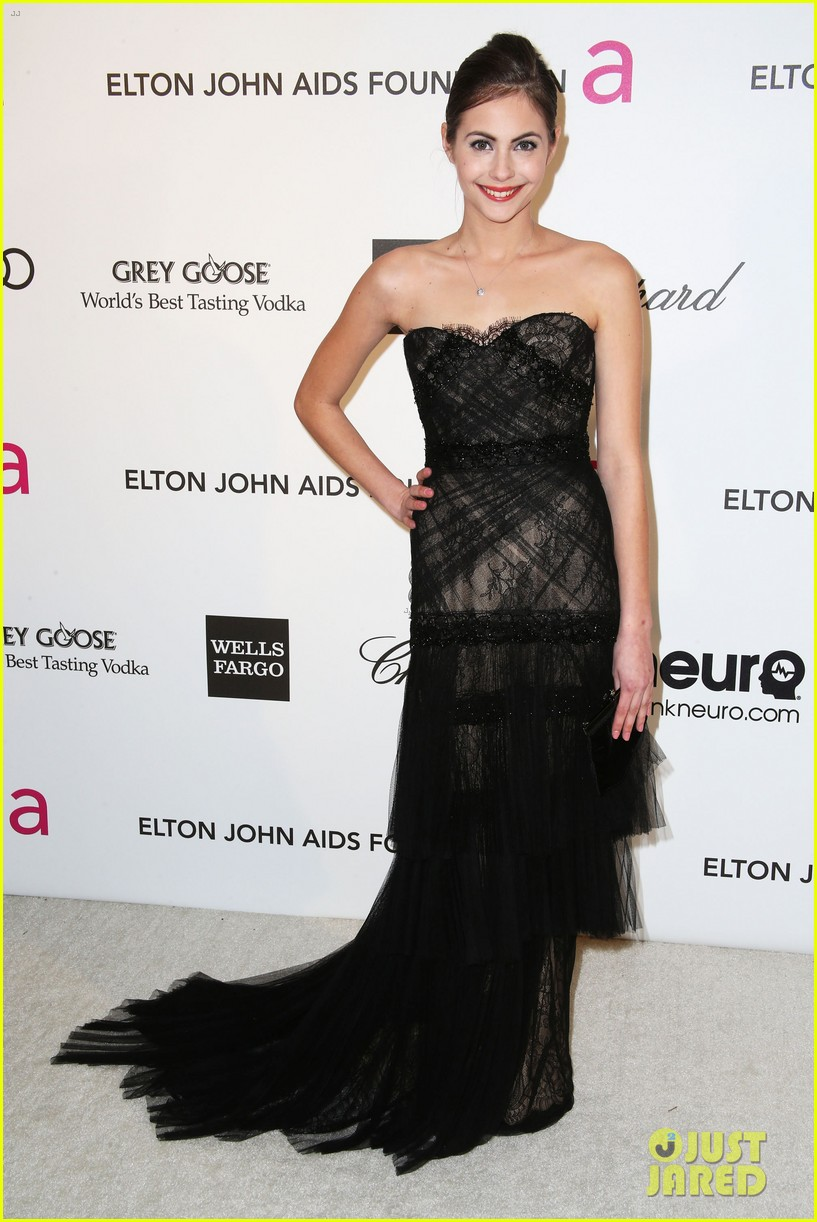 analeigh tipton willa holland elton john oscars party 2013 04