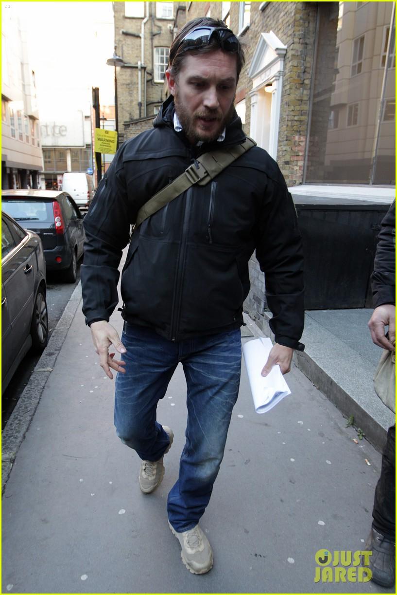 tom hardy london meeting man 022815778