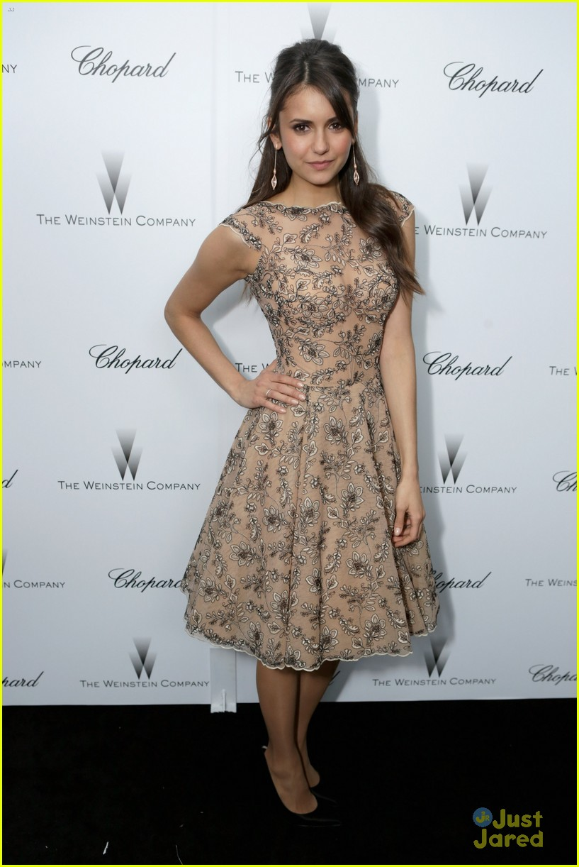 nina dobrev ian somerhalder weinstein pre oscars party with paul wesley 072818561