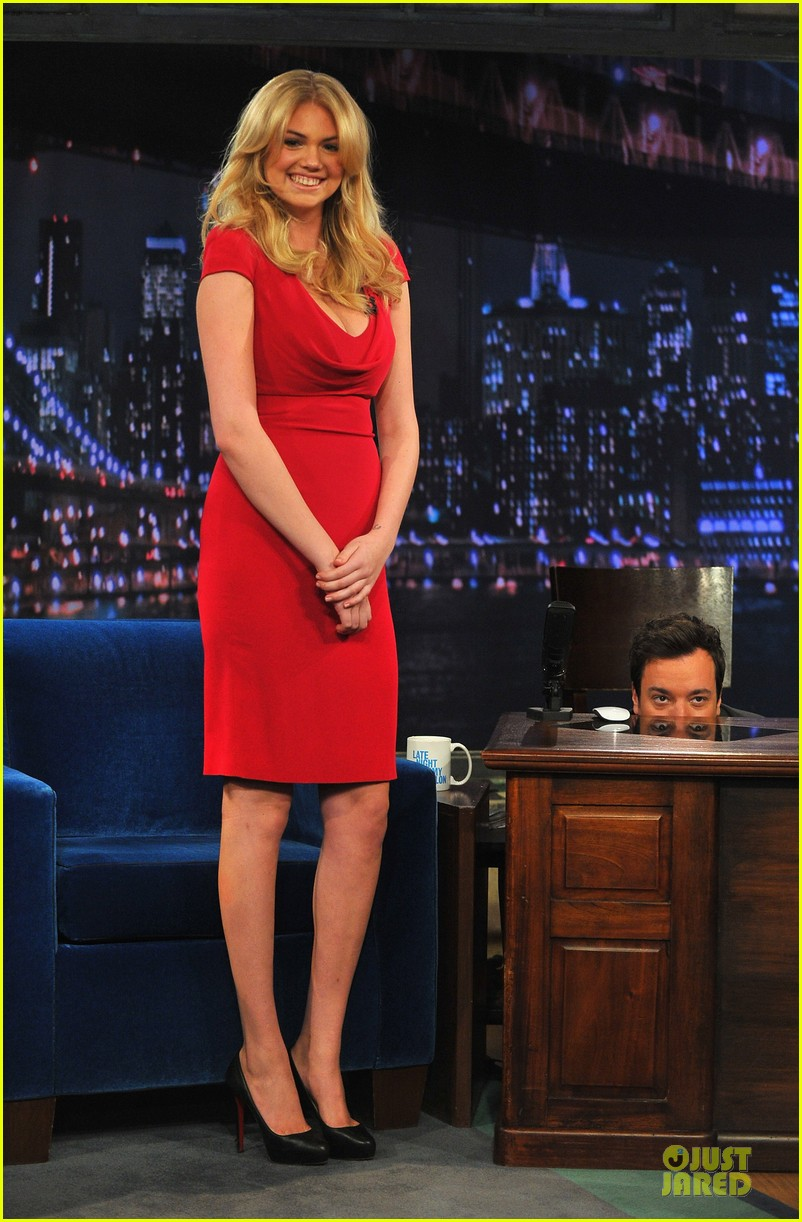 kate upton red hot fallon appearance 012820780