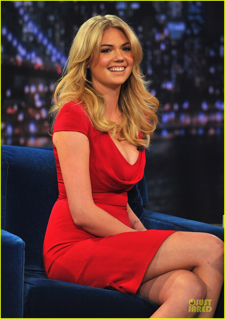 kate upton red hot fallon appearance 022820781