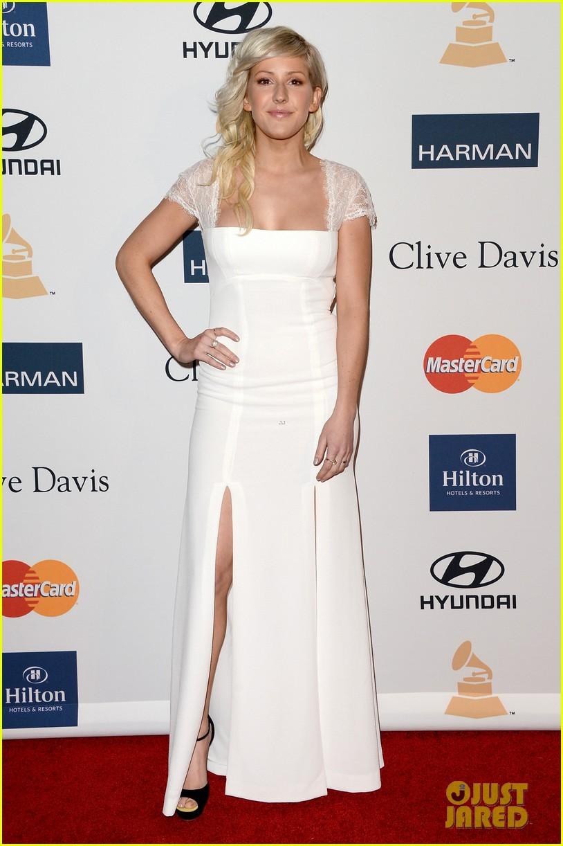 66e727e901 Usher, Ciara, & Ellie Goulding - Clive Davis Pre-Grammy Party ...