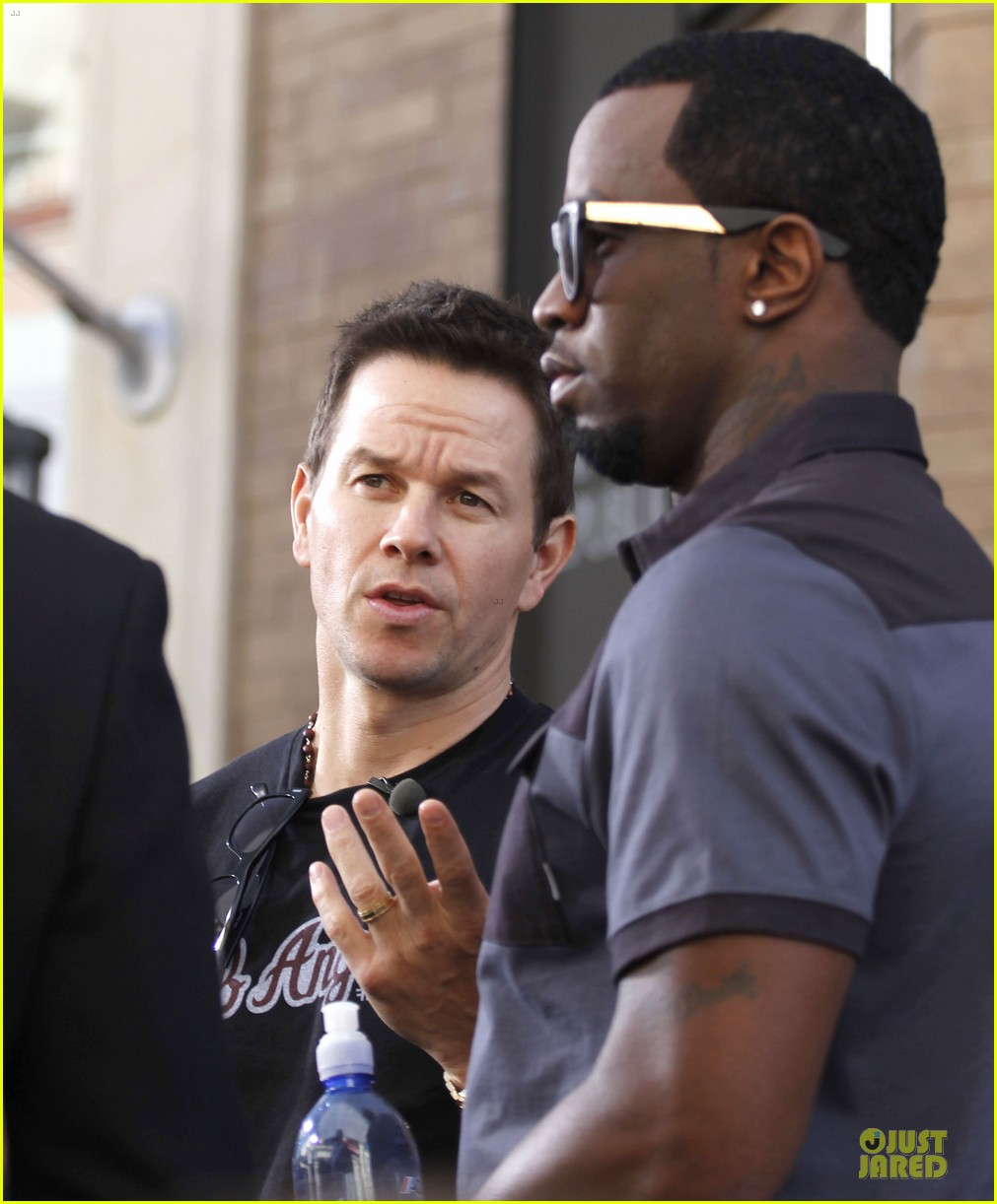 mark wahlberg sean combs aquahydrate press conference 072822016