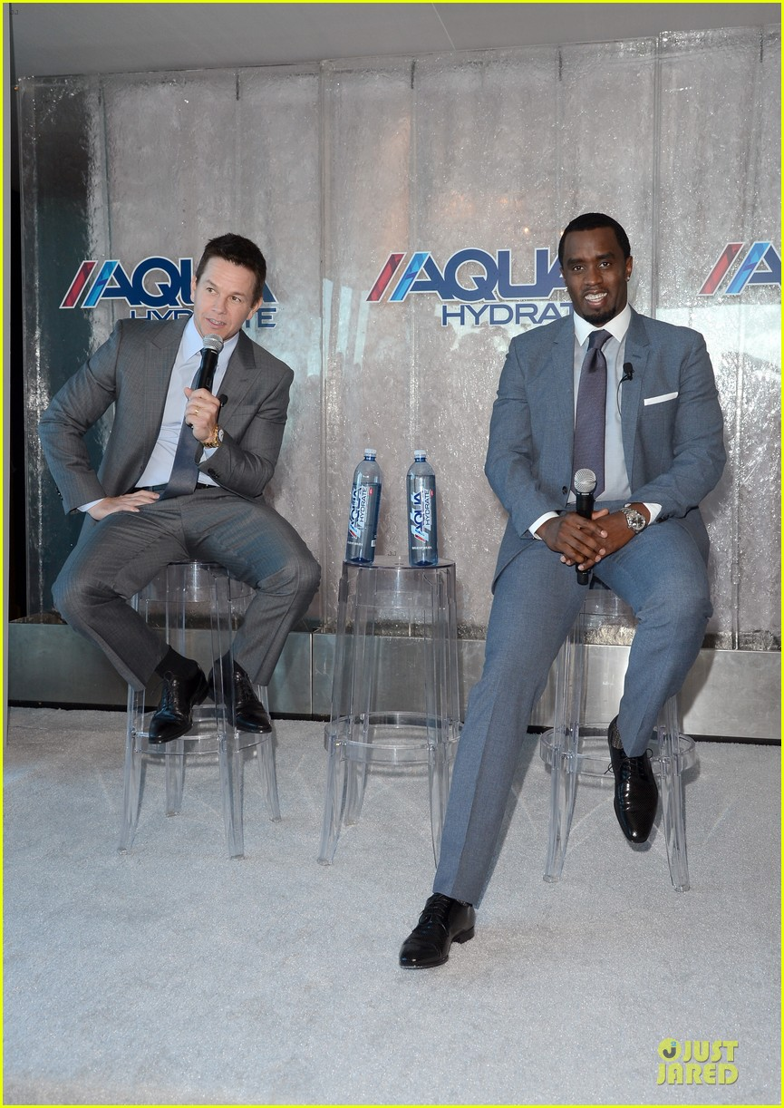 mark wahlberg sean combs aquahydrate press conference 222822031